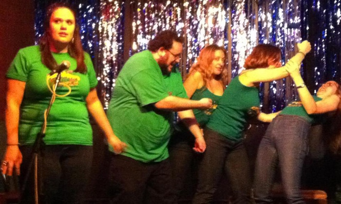 Say What? NYC Comedy Improv - Lower East Side: Say What? NYC Comedy Improv Show for Two or Four with Drinks at Parkside Lounge on Sundays at 7 p.m. (Up to 58% Off)