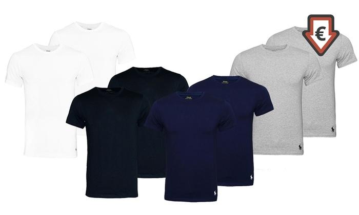 jusqu à 29% Pack de t-shirts Ralph Lauren   Groupon ee10741b235d