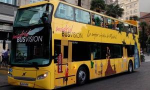Madrid City Tour Premium: Tour por Madrid con ruta guiada, bus turístico y ruta de tapas para 1 o 2 desde 14,95 € con Madrid City Tour Premium