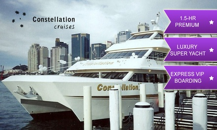 Constellation Cruises: From $20 for 90 Min Vivid Cruise, Express Boarding, Drink (From $35 Value)