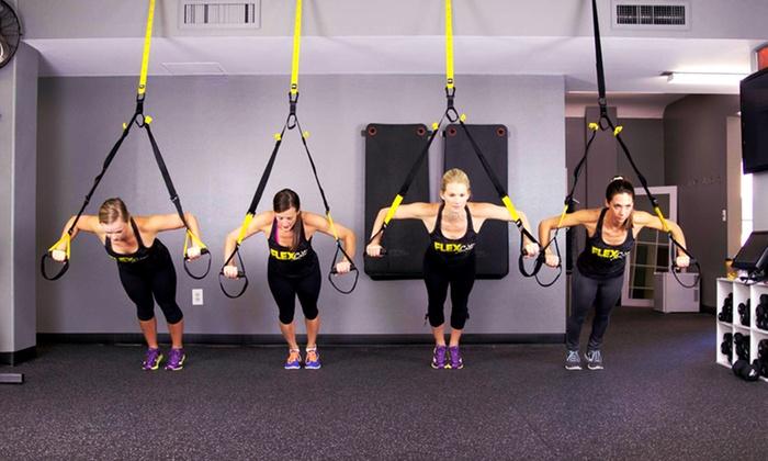 FLEXcity Fitness - Grand Rapids - FLEXcity Fitness - Grand Rapids: 3 Fitness Classes or One Month of Unlimited Classes at FLEXcity Fitness (Up to 67% Off)
