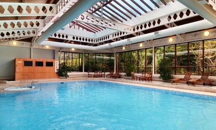 All day Spa Access with Sparkling Afternoon Tea for Two or Four at Doubletree Hilton Treetops Aberdeen