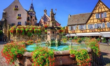 Alsace : 1 à 3 nuits avec petitdéjeuner, vin mousseux et option dîner pour 2 personnes à La Ferme du Pape
