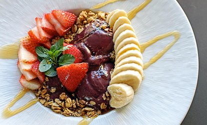 image for <strong>Coffee</strong> and Acai Bowls for One or Two at Food for Thoughts Cafe (50% Off)