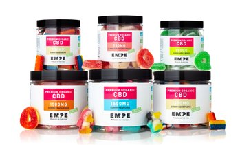Organic CBD Gummies from Empe USA (750mg or 1500mg)