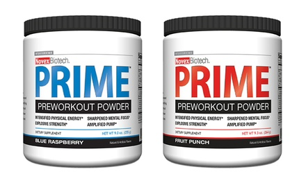 Novex Biotech Prime Pre-Workout Powder (2-Pack)