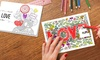 "Printerpix: Custom 5x7"" Zen Coloring Cards from Printerpix (Up to 73% Off)"