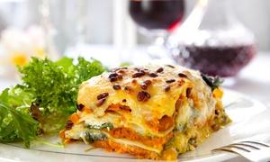 Locanda Madonna Delle Vigne Celano: Menu vegetariano con bottiglia di vino alla Locanda Madonna Delle Vigne (sconto fino a 58%)