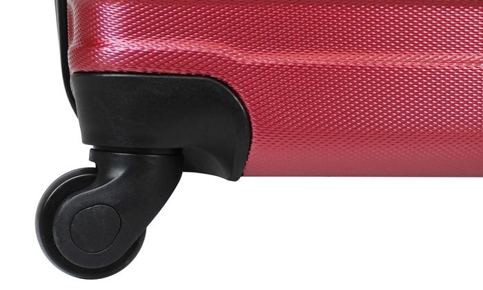 5c6766314 AMKA Verano Hardside Expandable Spinner Upright Luggage Set (3-Piece)