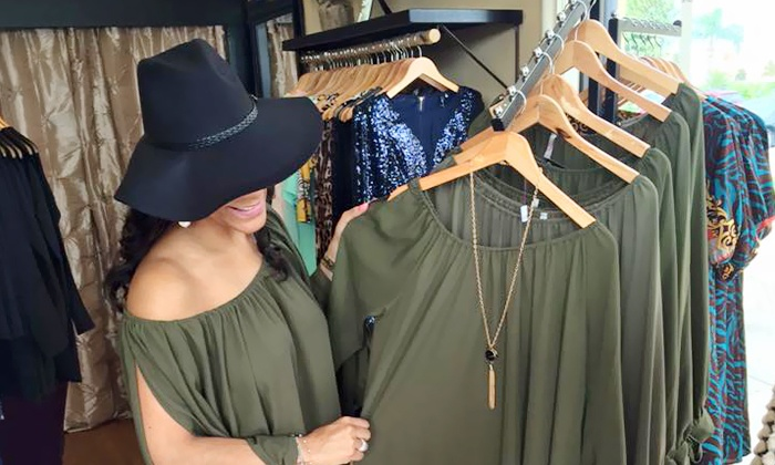 Ms. L Boutique - Fountain Park: Women's Clothing at Ms. L Boutique (50% Off). Two Options Available.