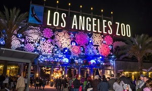 L.A. Zoo Lights – Up to 20% Off Holiday Event Admission at Greater Los Angeles Zoo Association, plus 6.0% Cash Back from Ebates.
