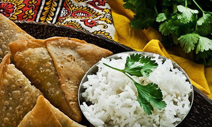 Raaga Restaurant - Bailey's Crossroads: Northern Indian Cuisine for Two or Four at Raaga Restaurant (Half Off)