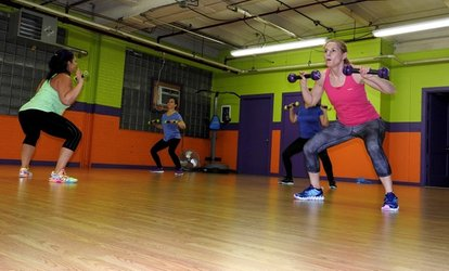 Up to 60% Off Zumba Classes at Full Throttle Fitness Factory