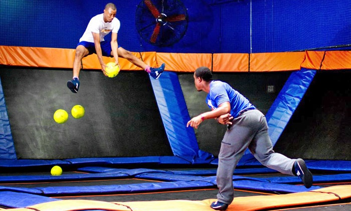 sky zone vancouver groupon