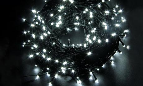 Stringhe con 300 luci LED di colore caldo o freddo