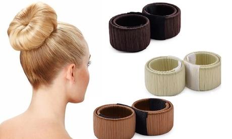 1, 2 o 3 Hairagami para peinados y moños