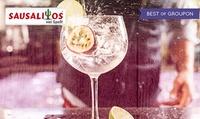 BarMixSession-Cocktailkurs mit 7-8 Cocktails + 2 Extra-Cocktail-Gutscheine für 1 Person bei Sausalitos (26% sparen*)