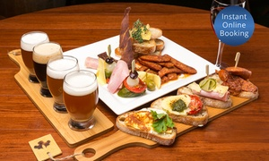 The Malty Grain: Gastro Pub Meal with Craft Beer for One ($19), Two ($35), or Eight People ($125) at The Malty Grain (Up to $240 Value)