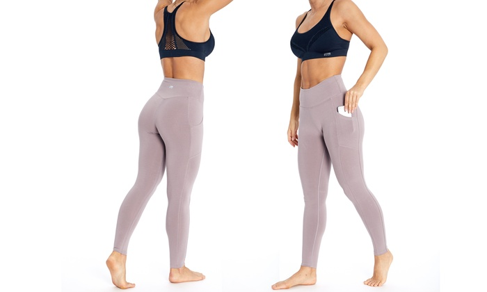576d189d41 Up To 64% Off on Marika Pocket Legging with Plus | Groupon Goods