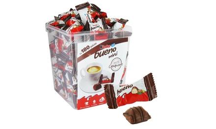 Kinder® : 2 ou 4 boîtes de Mini Bueno de 180 pièces (soit 360 ou 720 pièces)