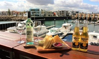 $19 for Dip Plate with a Bottle of Wine or Two Coronas at Marina Sunset Bar, Glenelg (Up to $51 Value)