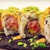 Menu Sushi con sakè