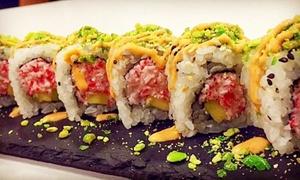 Sushikaiten: Menu Sushi da 7 portate con sakè al ristorante Sushikaiten (sconto fino a 68%)