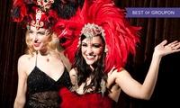 Dîner-spectacle pour 2 personnes dès 36 € au Cabaret la Plume Rouge