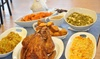 Dusty's Buffet - Misty Pines: Fried Turkey or Full Fried Turkey Dinner with Six Southern Sides from Dusty's Buffet (30% Off)