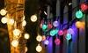 Guirlande lumineuse 5 m avec 20 ampoules