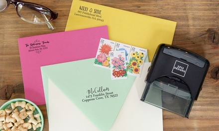 Shop Custom Stamps and Home Decor from 2712 Designs (Up to 52% Off)