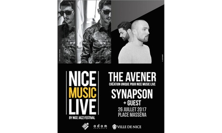 1 place debout pour The Avener au Nice Music Live le 26 juillet 2017 à 21h à 29 € à la Place Massena