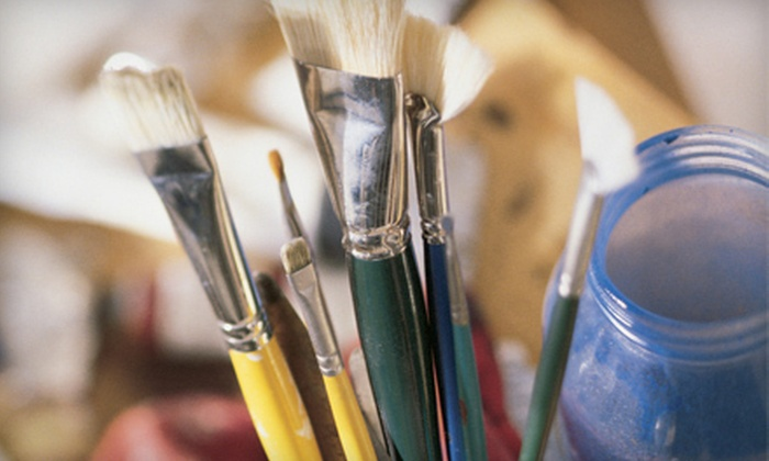 Your Artistic Spirits - Multiple Locations: Painting, Jewelry-Making, or Mosaics Class for Two with Materials Included at Your Artistic Spirits (Half Off)