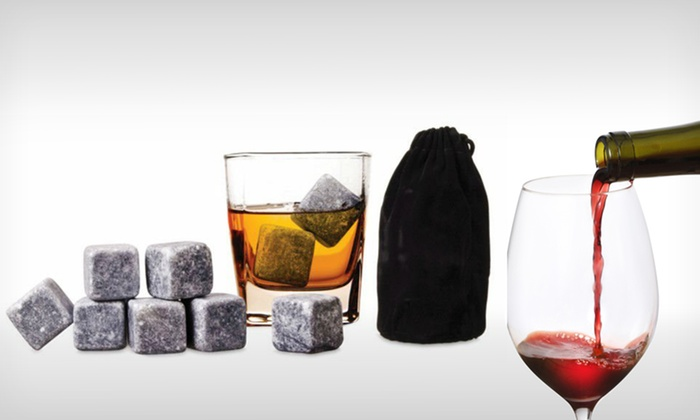 9-Piece Set of Whiskey or Wine Stones: $6.99 for a 9-Piece Set of Reusable Whiskey or Wine Stones ($24.99 List Price). Free Returns.