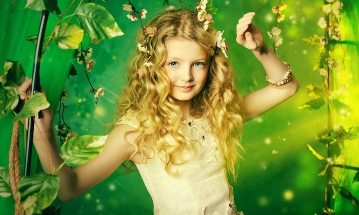 LA Photography - Dublin: Fairy Tale or Superhero-Themed Photoshoot for One Child from LA Photography (90% Off)