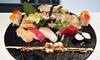 Menu sushi All you can eat e calice di vino