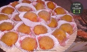 Delícias da Linda: Delícias da Linda – Santa Cruz: kit com  doces, salgados, pãezinhos e torta