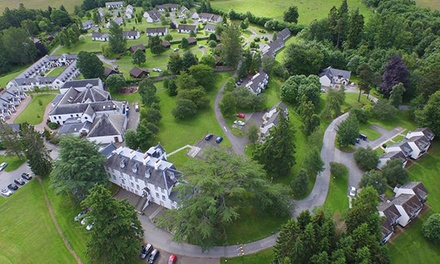 Perthshire: 1 or 2 Nights with Breakfast and Spa Access; Option for Dinner and Resort Credit at Moness House Hotel