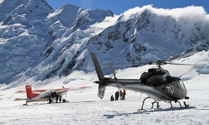 Mount Cook Ski Planes and Helicopters: Ultimate Alpine Adventure for 1 Child ($260) or Up to 20 Adults ($6,800) with Mount Cook Ski Planes and Helicopters