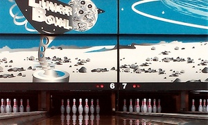 Lunar Bowl: Two Hours of Bowling for Up to Six or Three Hours of Cosmic Bowling for Up to Four at Lunar Bowl (Up to 51% Off)
