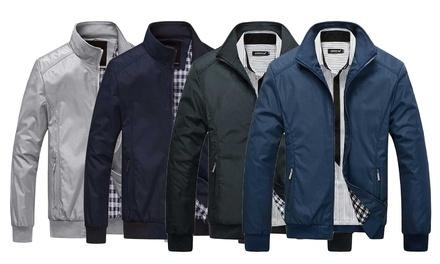 Mens Harrington Jacket