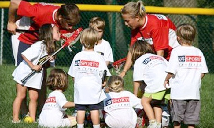 US Sports Institute - Multiple Locations: One-Week Sports or Soccer Camp for One or Two Children at US Sports Institute (56% Off)