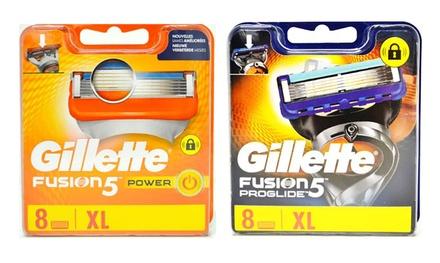 Pack de lames de rechange Gillette Fusion 5 Power ou ProGlide