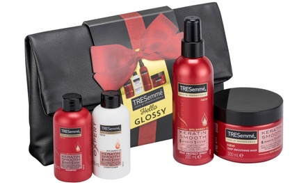 One or Two Tresemme Hello Glossy Styling Bag Gift Sets from Groupon UK