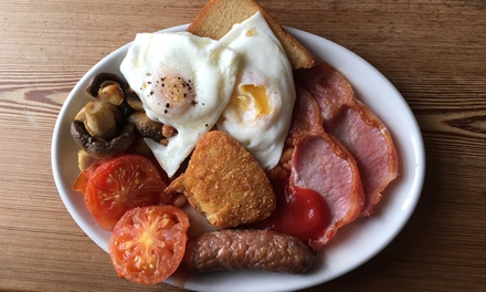 AllDay Breakfast with Coffee for One $10, Two $19 or Four People $35 at B Spot Café Up to $90 Value