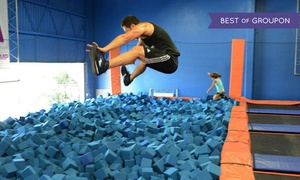 39% Off Jump Sessions at Sky Zone Houston at Sky Zone, plus 6.0% Cash Back from Ebates.