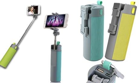 4-in-1 Selfie Stick, Phone Mount, Bluetooth Speaker, and Power Bank b74feb0a-6591-11e7-925e-00259060b5da