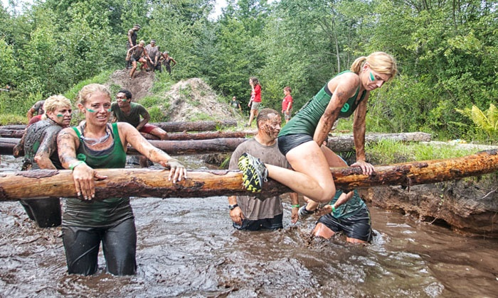 ABF Mud Run - Pemberton: Race Registration or Spectator Passes to the ABF Mud Run on Saturday, April 26, 2014 (Up to 52% Off)
