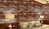 10-Meter Natural Brick Stone Wall Decal Wallpaper