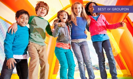 Full-Day Inflatable Moonwalk Rental or Combo-Piece Rental from Fun Services (Up to 68% Off)